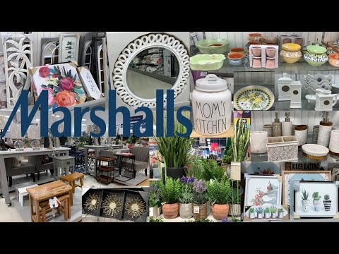 Marshalls Furniture Home Decor | Kitchen & Bathroom Decor | Shop With Me 2019