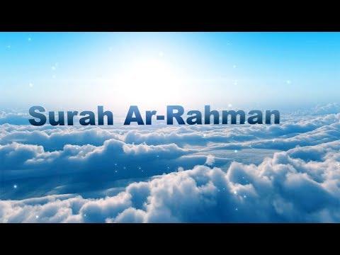 Surah RAHMAN (The Beneficent) with English Transliteration - Translation Full HD