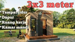 Download Lagu Rumah 3x3 meter.... Mungil tapi banyak fungsi mp3