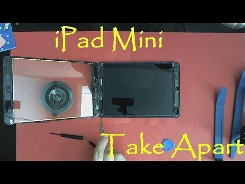 iPad Mini Take Apart Teardown And How To Clean Water Damage