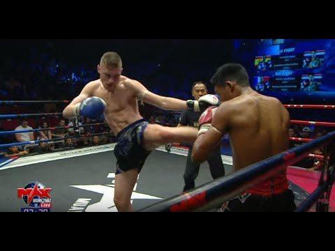 [ ENGLAND VS THAILAND ]  PAYAKNARA NARATHIWAT SCHOOL VS JOSHUA HILL I MAX Muay Thai คู่1