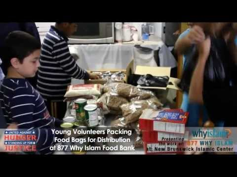 "Muslim Charity Feed The Hungry In US ""ICNA"" & ""WhyIslam"" Muslim Organizations"