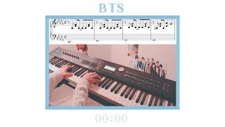 BTS (방탄소년단) - 00:00 (Zero O' Clock) Piano Cover