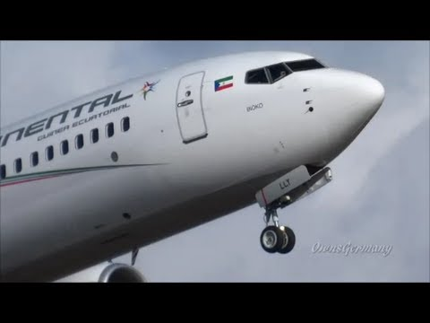 Ceiba Intercontinental 1st Boeing 737 Touch n' Go & Missed Approach - Test Flight