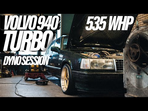VOLVO 940 TURBO - DYNO SESSION⎟LAUNCH AND BURNOUT