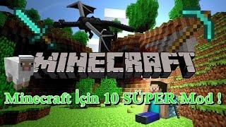 Minecraft Oyununuzu İyileştirecek 10 SÜPER Mod ! [1.7.10]