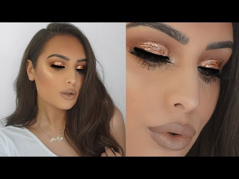 NYE FULL GLAM MAKEUP & Q&A 2018