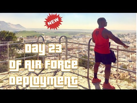 Day 23 of Air Force Deployment/Military Travel In Moron, Spain!