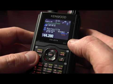 Kenwood TH-D74 APRS & DSTAR Radio