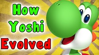 The Evolution Of Yoshi (1990 - 2016)