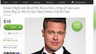 Groupon Offers Deals to Meet Brad Pitt