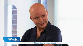 Gail Porter talks to us about her battles with mental health #wrightstuff