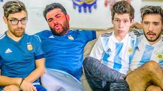 Reacciones de Amigos | Alemania vs Argentina | Partido Internacional 2019