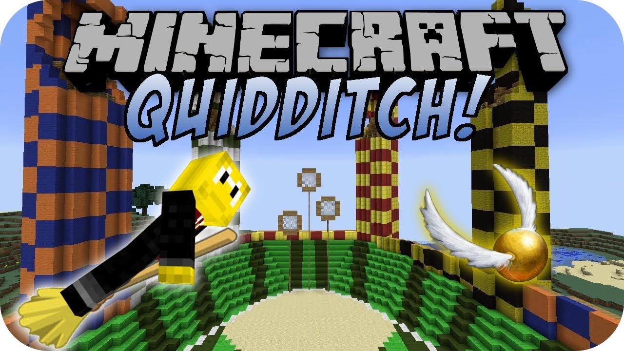 Minecraft Quidditch Mod Deutsch Youtube