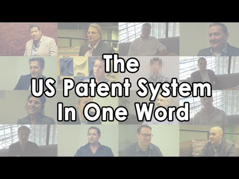 The US Patent System In One Word