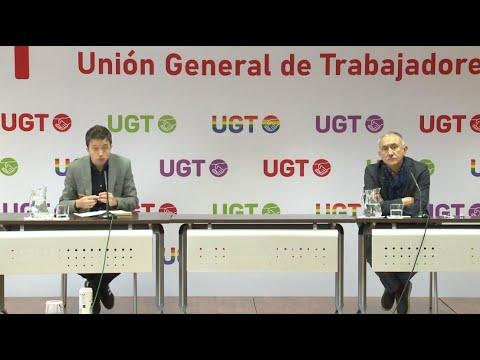 Rueda de prensa de Pepe Álvarez e Iñigo Errejón sobre la semana laboral de 4 días