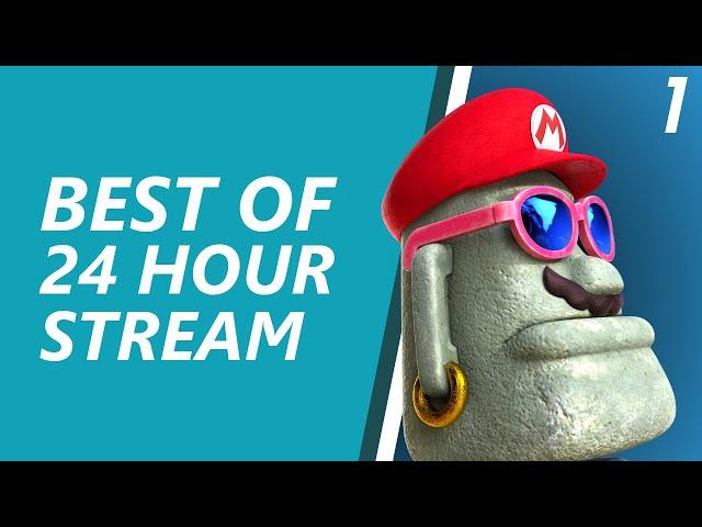 My first 24 hour stream (Part 1) - Samura1man Twitch Highlights