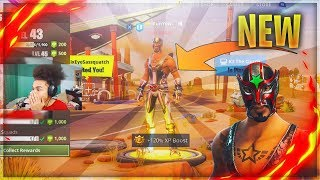 *NEW* MASKED FURY SKIN WINS A SOLO GAME on FORTNITE BATTLE ROYALE