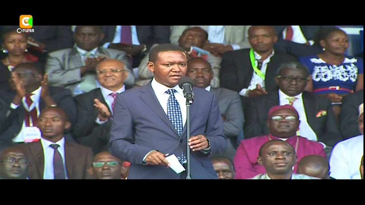 Kenyatta, Ruto tear at opposition in Machakos tour