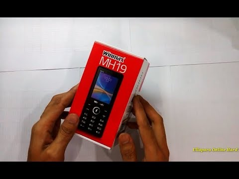 Winmax MH19 Feature Phones Unboxing Review Bangla