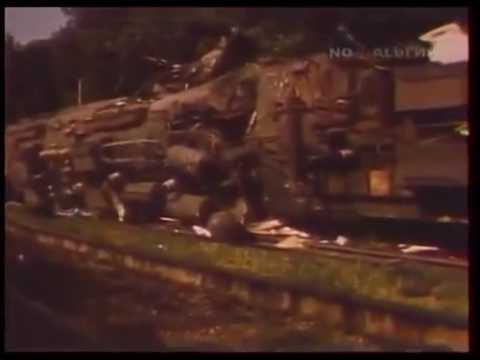 Железнодорожная катастрофа  на станции Каменск Шахтинский 7августа 1987г
