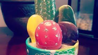 Rock cactus by Rachel