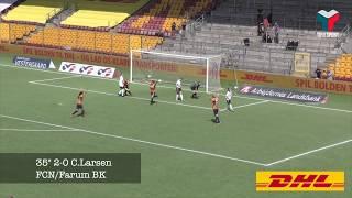 Highlights: Farum BK/FCN vs Vildbjerg SF: 6-0