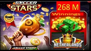 SOCCER STARS SOCCER STARS 264 Millions Of Coins Winings All In 20M Netherlands HD