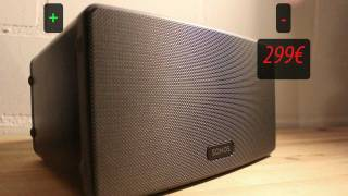 [Review] Sonos PLAY:3 - Musikgenuss ohne Kabelgewirr