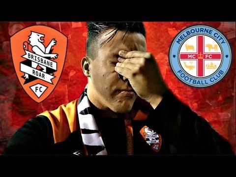 KNOCKOUT HEARTBREAK! | Brisbane Roar v Melbourne City | FFA Cup | Game Day Experience | Vlog