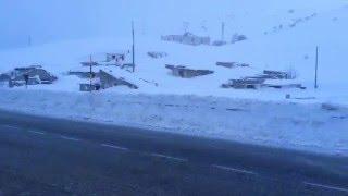 Abruzzo Pescocostanzo bufera di neve altopiano delle 5 miglia