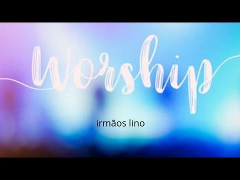 Diante da cruz worship Aline barros Cover - irmãos lino