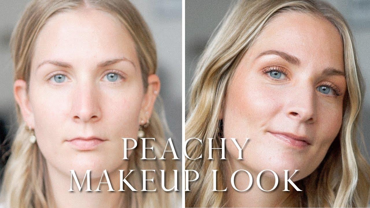 Fresh Glowy Makeup Look
