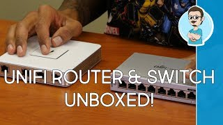 Ubiquiti Networks Enterprise Gateway Router & 8-Port Gigabit PoE Switch Unboxing!