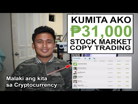 eToro Copy Trading 8th Months Update: Kumita ako ng ₱31,000 sa Cryptocurrencies at Stock Market