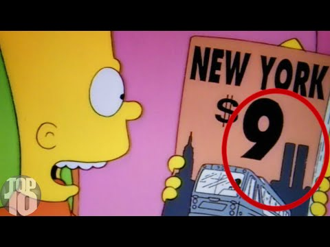 Thumbnail: 10 Things The Simpsons Predicted
