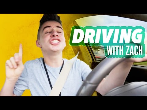 DRIVING WITH ZACH | Bruhitszach