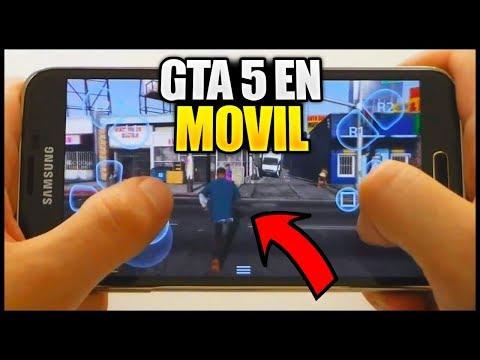COMO DESCARGAR GTA 5 PARA MOVIL (ANDROID & IPHONE) 💥2018💥 (Descargar GTA V Para Moviles 2018)