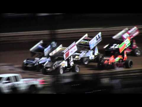 Williams Grove Speedway 410 Sprint Car and ARDC Midget Highlights 9-18-15