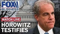 Watch Live: DOJ Inspector General testifies on FISA abuse, Russia probe