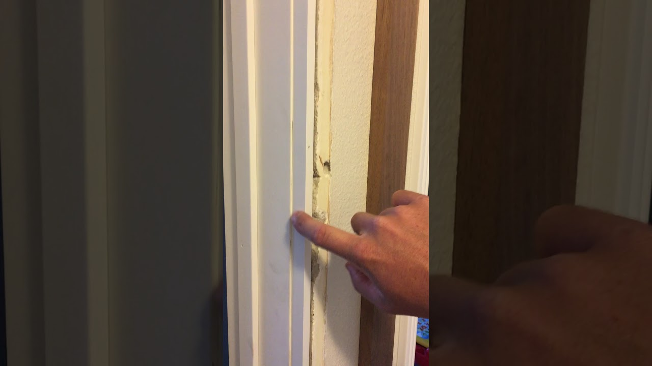 Pre Hung Door Casing Width Too Small For Wall Solution Youtube