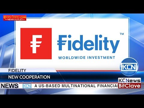КCN Investment company Fidelity will test a new cryptocurrency service