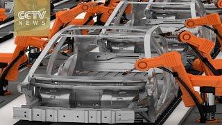 Fast-growing robotics market in China