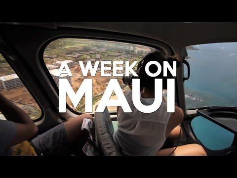 A Week in Maui, Hawaii