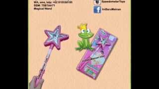 Jual Mainan Anak Magical Wand Tongkat Peri