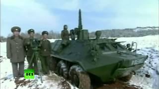 Военные учения КНДР (северокорейское телевидение)