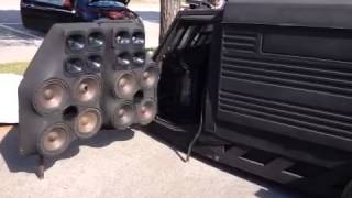 Piaggio ape car con impianto car audio Lignano Sab