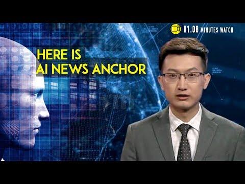 Meet World's first virtual AI news Anchor of China