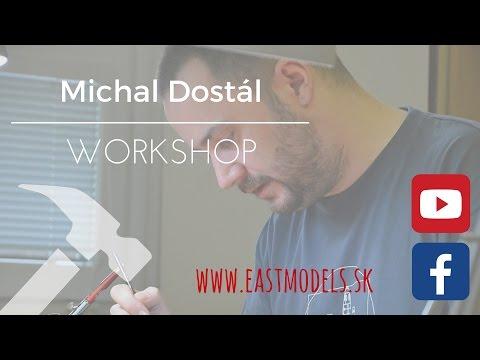 Michal Dostál - workshop (chipping on aircraft scale models/odreniny na modeloch lietadiel)