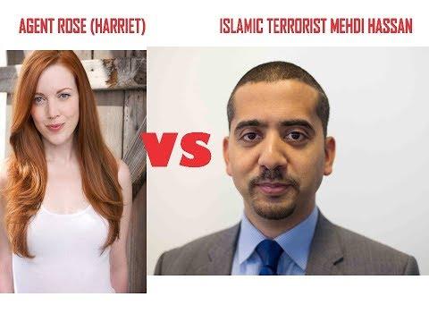 CIA/MI-5 Agent Harriet (Rose Starkey) VS Islamist Mehdi-Hasan